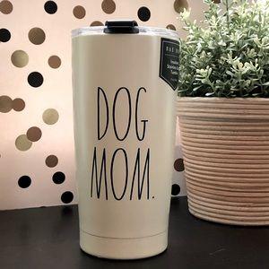 Rae Dunn DOG MOM stainless steel tumbler